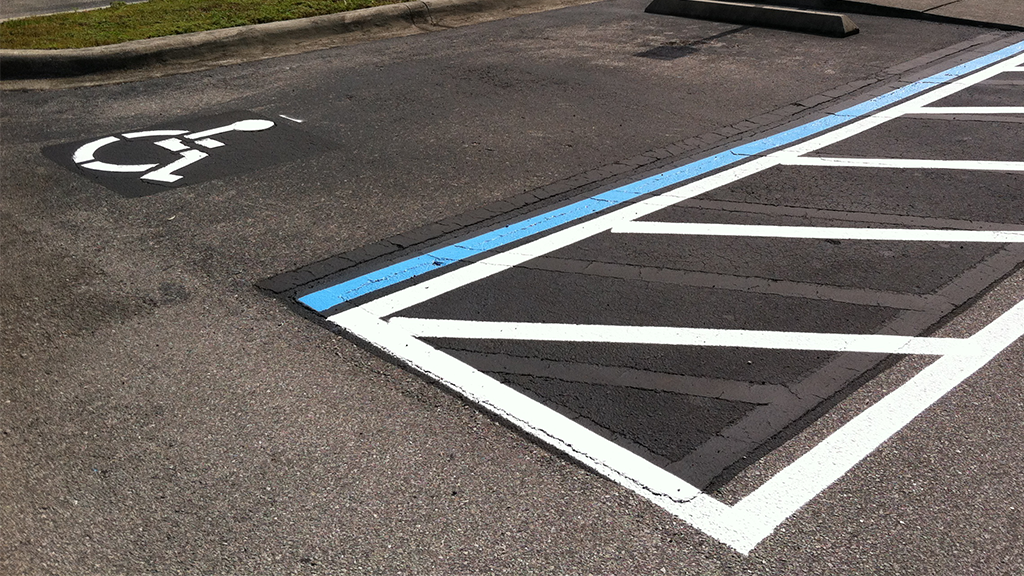Image of ADA or Handicap Upgrades by All Florida Striping and Sealcoating